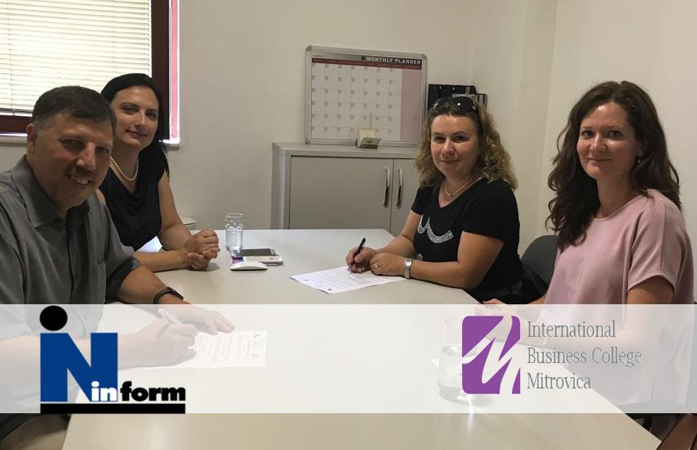 Cooperation, INform & International Business College Mitrovica